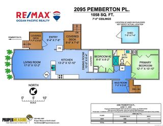 Photo 3: 2095 Pemberton Pl in : CV Comox (Town of) Manufactured Home for sale (Comox Valley)  : MLS®# 879116