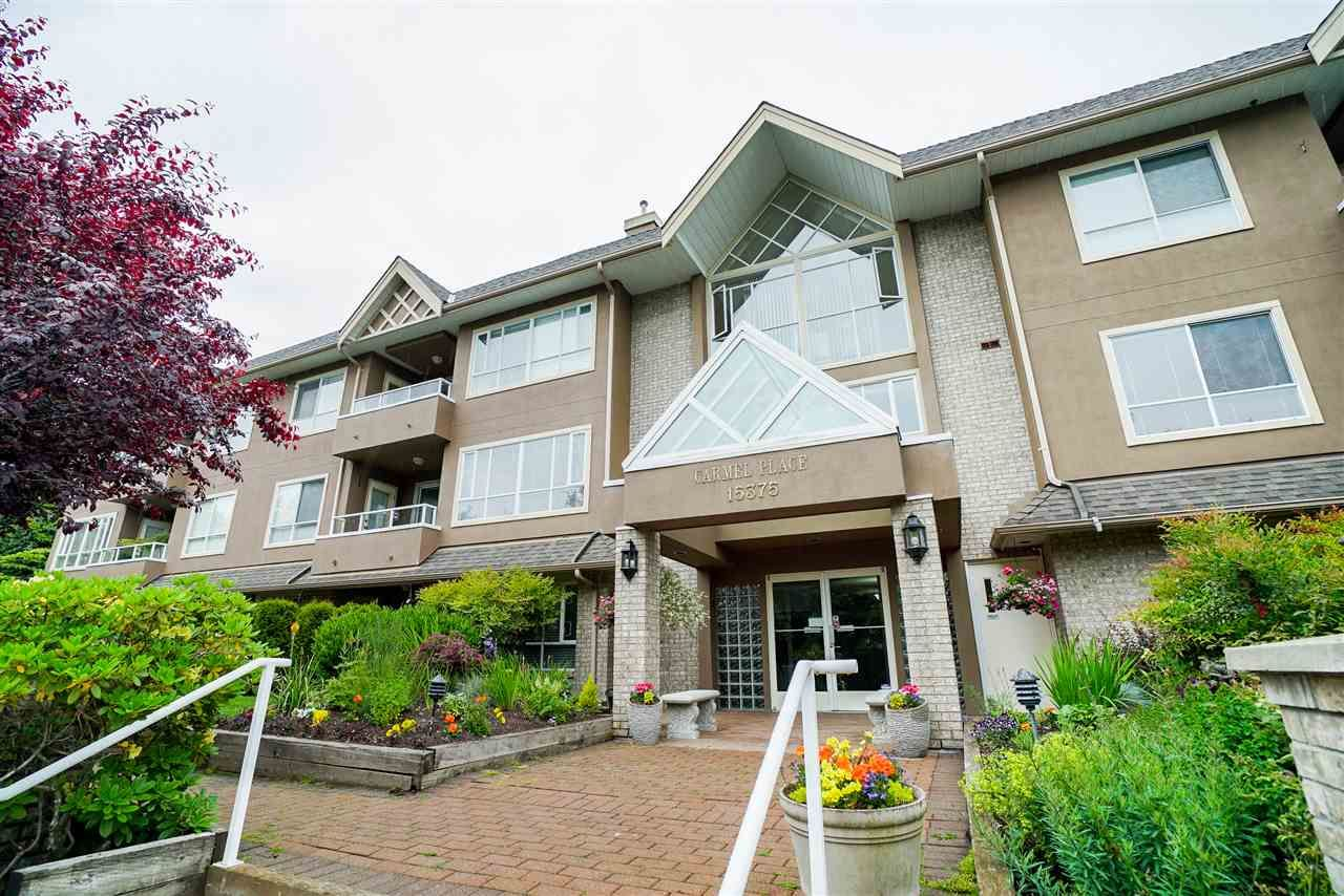 "Main Photo: 201 15375 17 Avenue in Surrey: King George Corridor Condo for sale in ""Carmel Court"" (South Surrey White Rock)  : MLS®# R2275453"