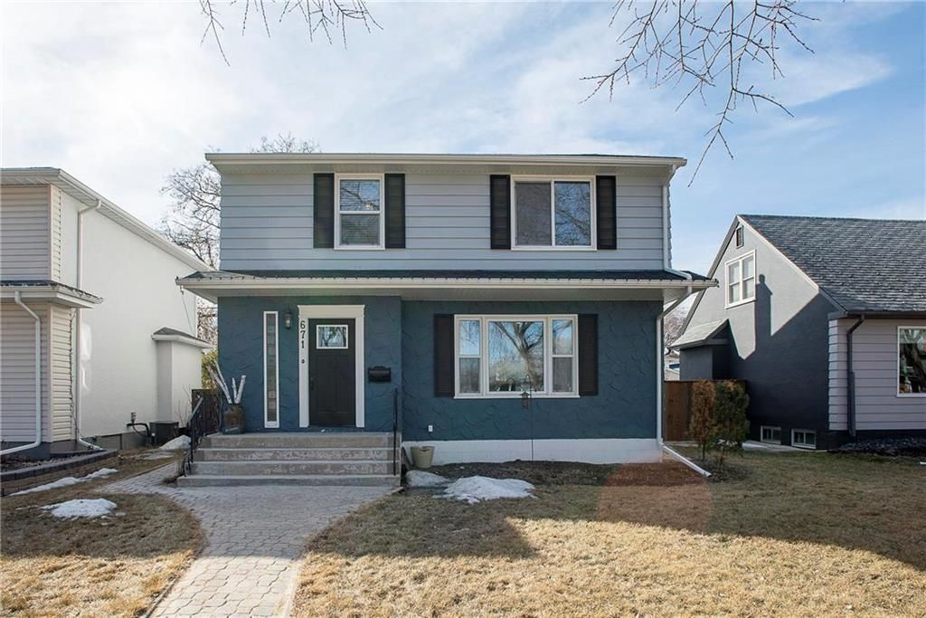 Main Photo: 671 Waterloo Street in Winnipeg: River Heights South Residential for sale (1D)  : MLS®# 202105627