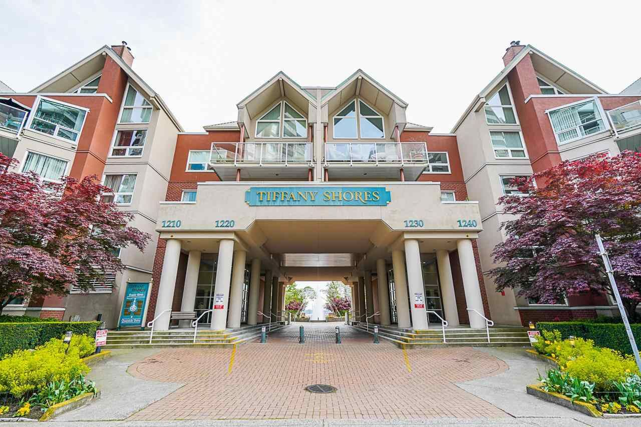 """Main Photo: 201 1230 QUAYSIDE Drive in New Westminster: Quay Condo for sale in """"Tiffany Shores"""" : MLS®# R2586414"""