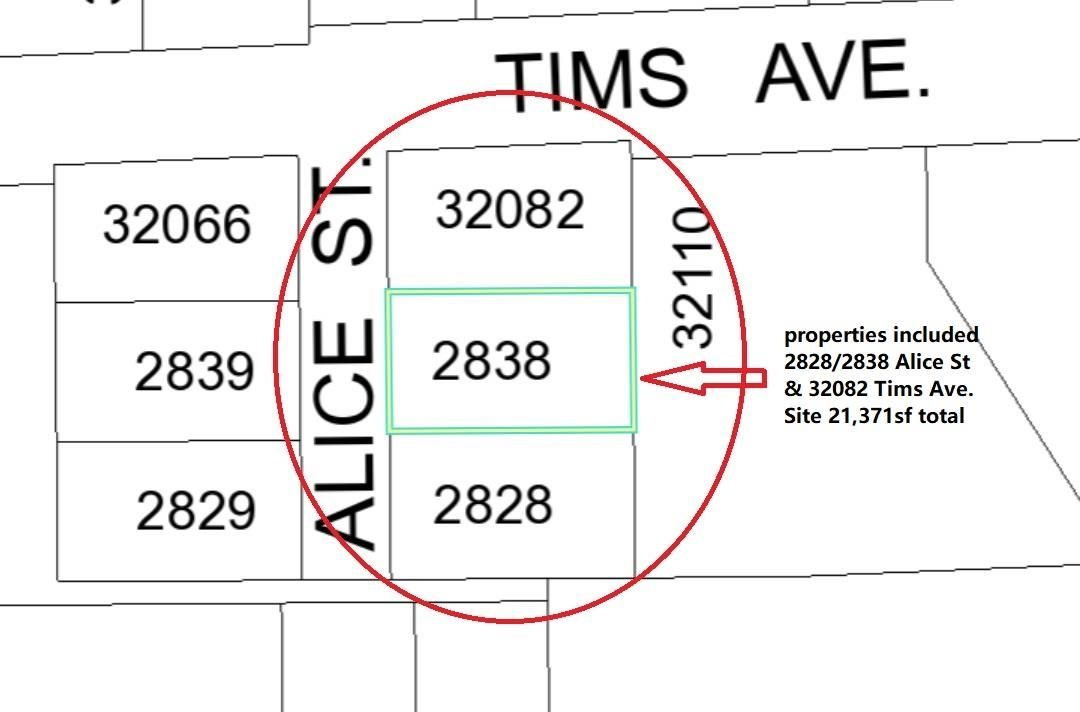 Main Photo: 2838 ALICE Street: Land Commercial for sale in Abbotsford: MLS®# C8037911
