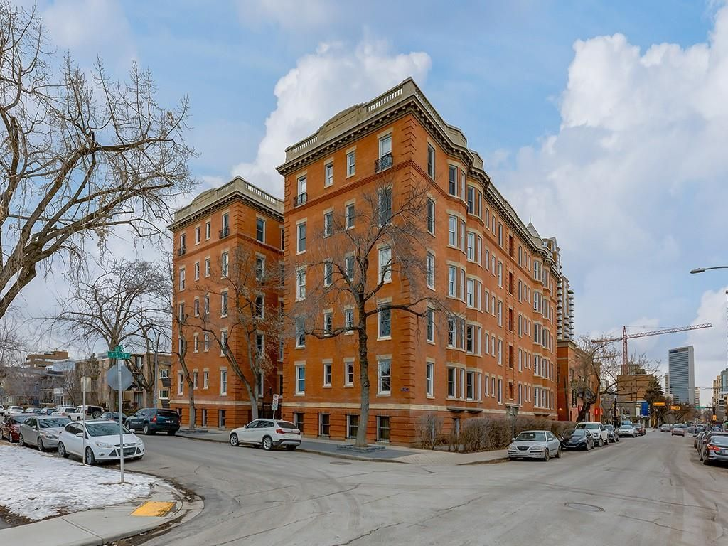 Main Photo: 308 804 18 Avenue SW in Calgary: Lower Mount Royal Apartment for sale : MLS®# C4291109
