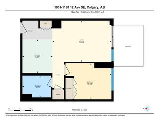 Photo 32: 1901 1188 3 Street SE in Calgary: Beltline Apartment for sale : MLS®# A1057035