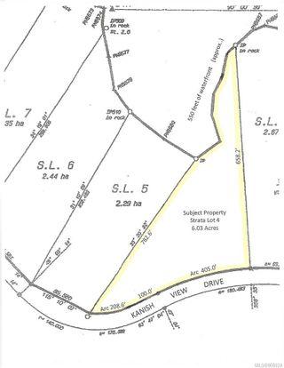 Photo 3: 1624 Kanish View Dr in : Isl Quadra Island Land for sale (Islands)  : MLS®# 866024
