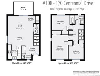 Photo 9: 108 170 CENTENNIAL DRIVE in COURTENAY: CV Courtenay East Row/Townhouse for sale (Comox Valley)  : MLS®# 820333