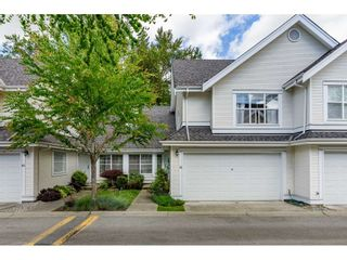 """Photo 1: 42 17097 64 Avenue in Surrey: Cloverdale BC Townhouse for sale in """"Kentucky"""" (Cloverdale)  : MLS®# R2465944"""