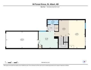 Photo 38: 64 FOREST Grove: St. Albert Townhouse for sale : MLS®# E4231232