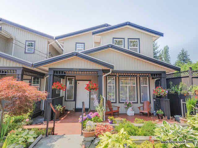 Main Photo: 340 NELSON Street in Coquitlam: Maillardville 1/2 Duplex for sale : MLS®# V1132962