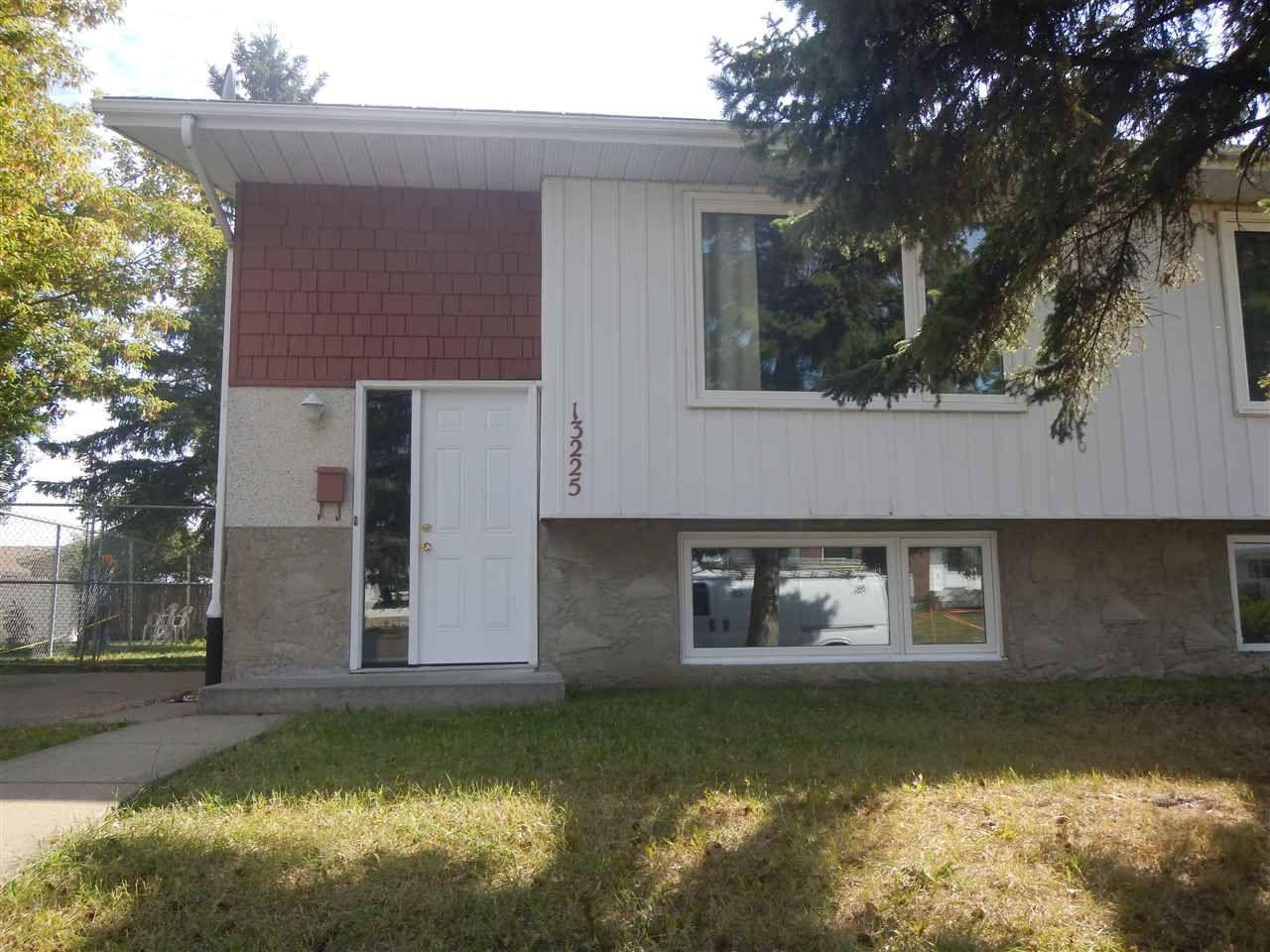 Main Photo: 13225 38 Street NW in Edmonton: Zone 35 House Half Duplex for sale : MLS®# E4239241
