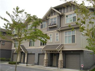 """Photo 1: 36 31125 WESTRIDGE Place in Abbotsford: Abbotsford West Townhouse for sale in """"Kinfield"""" : MLS®# R2023188"""