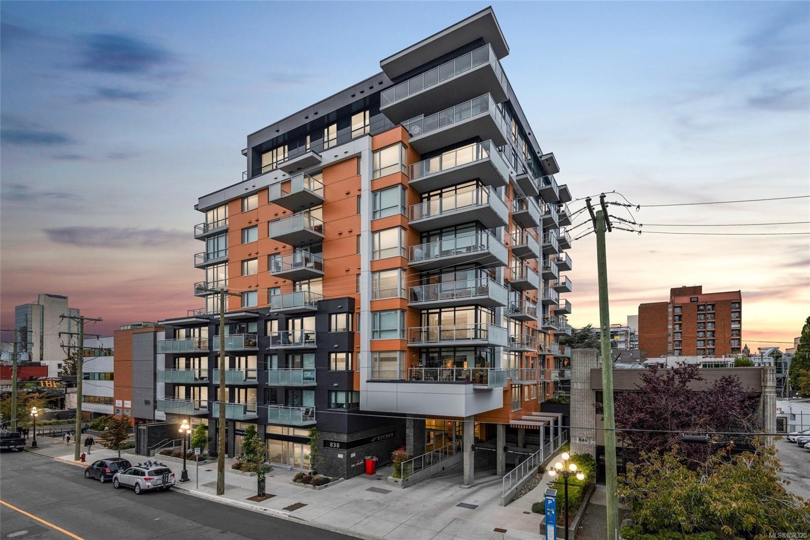 Main Photo: 507 838 Broughton St in : Vi Downtown Condo for sale (Victoria)  : MLS®# 858320