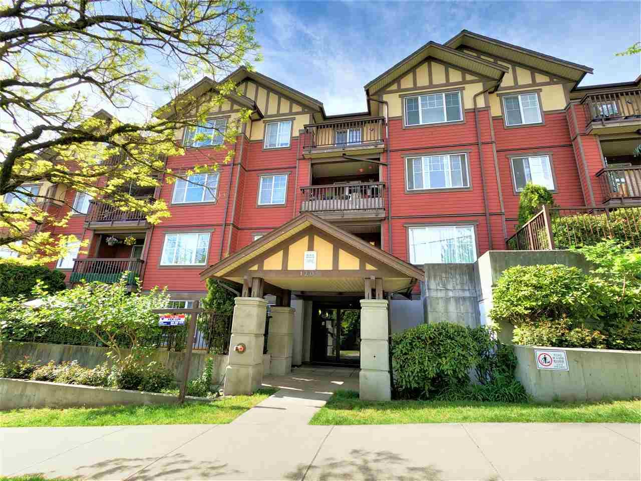"""Main Photo: 304 1205 FIFTH Avenue in New Westminster: Uptown NW Condo for sale in """"RIVER VISTA"""" : MLS®# R2568844"""