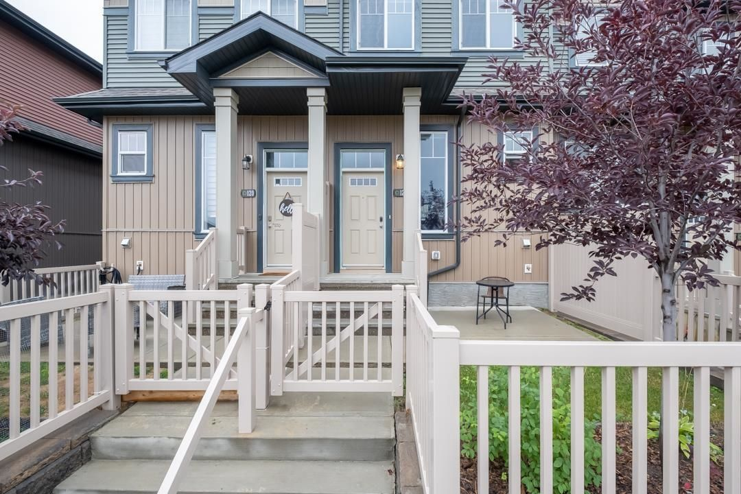 Main Photo: 121 3305 ORCHARDS Link in Edmonton: Zone 53 Townhouse for sale : MLS®# E4263161