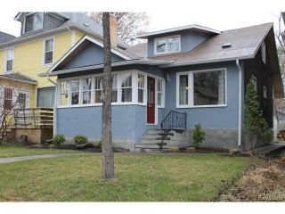 Photo 1: 35 Evanson Street in WINNIPEG: West End / Wolseley Residential for sale (West Winnipeg)  : MLS®# 1510559