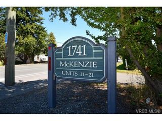 Photo 1: 19 1741 McKenzie Ave in VICTORIA: SE Mt Tolmie Row/Townhouse for sale (Saanich East)  : MLS®# 737360