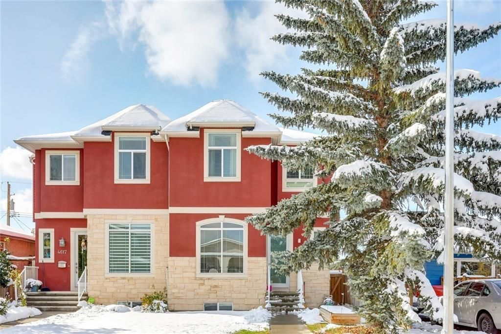 Main Photo: 4619 84 Street NW in Calgary: Bowness Semi Detached for sale : MLS®# C4271032
