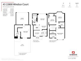 "Photo 34: 43 22800 WINDSOR Court in Richmond: Hamilton RI Townhouse for sale in ""PARC SAVANNAH"" : MLS®# R2623349"