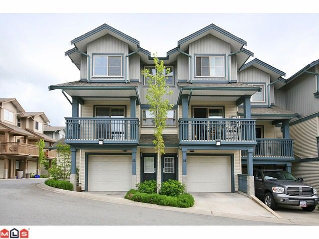 """Main Photo: 84 19250 65TH Avenue in Surrey: Clayton Townhouse for sale in """"SUNBERRY COURT"""" (Cloverdale)  : MLS®# F1012417"""