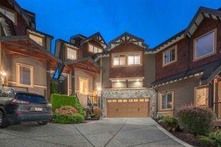 "Photo 1: 69 24185 106B Avenue in Maple Ridge: Albion Townhouse for sale in ""TRAILS EDGE"" : MLS®# R2490281"