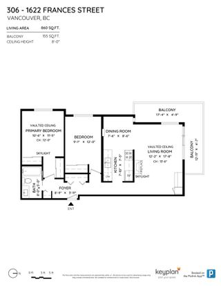 """Photo 24: 306 1622 FRANCES Street in Vancouver: Hastings Condo for sale in """"Frances Place"""" (Vancouver East)  : MLS®# R2619733"""