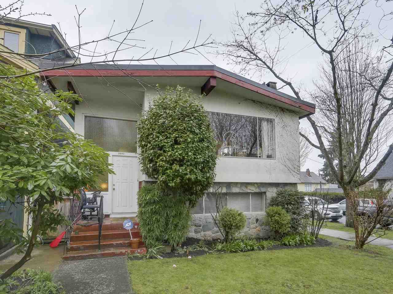 """Main Photo: 3901 TUPPER Street in Vancouver: Cambie House for sale in """"Douglas Park"""" (Vancouver West)  : MLS®# R2256298"""
