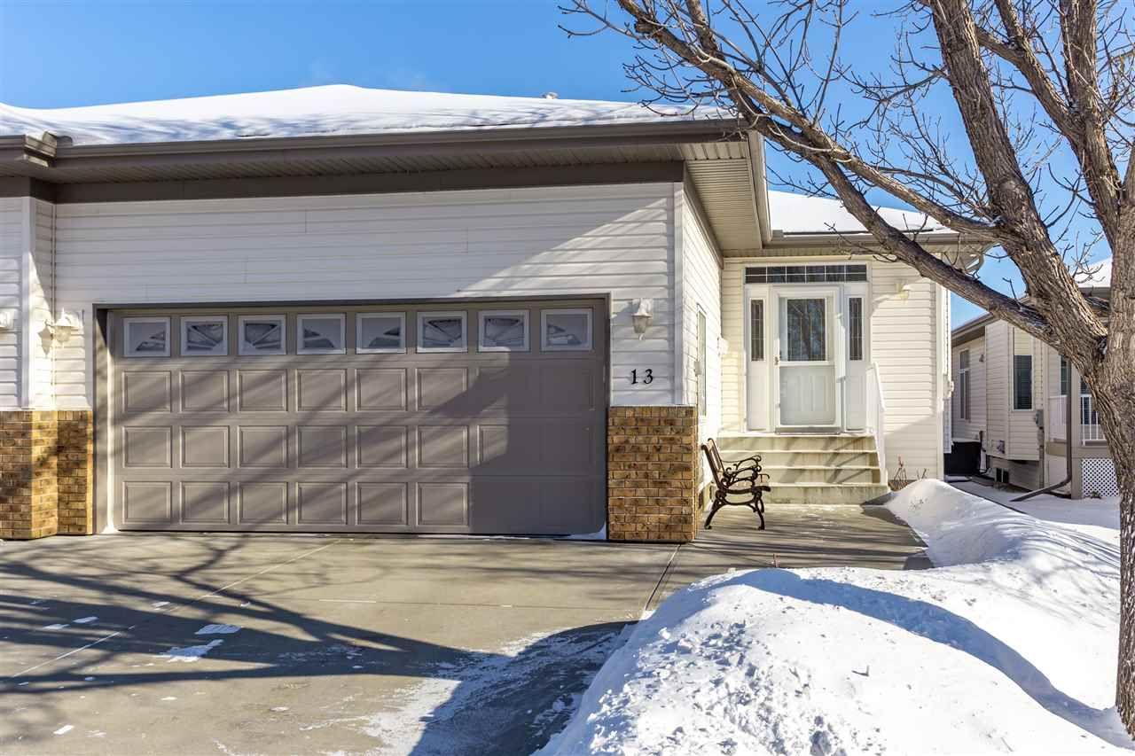 Main Photo: 13 65 Oakmont Drive: St. Albert House Half Duplex for sale : MLS®# E4228559