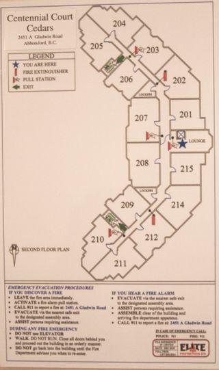 Photo 37: 203 2451 Gladwin Road in : Abbotsford West Condo for sale (Abbotsford)