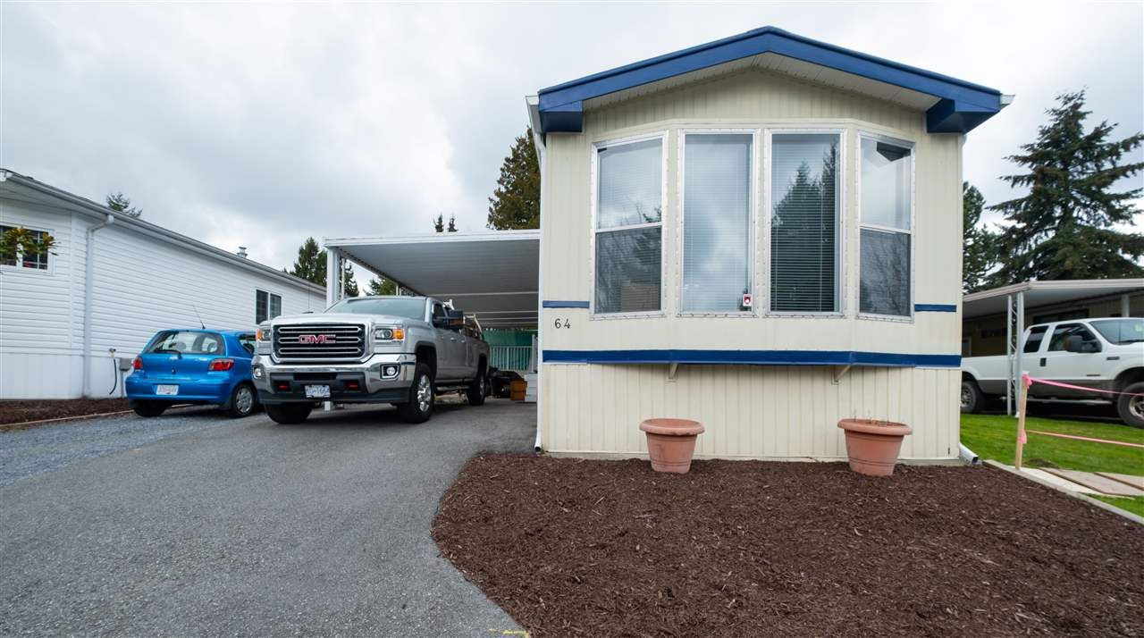 Main Photo: 64 7790 KING GEORGE Boulevard in Surrey: King George Corridor Manufactured Home for sale (South Surrey White Rock)  : MLS®# R2558135