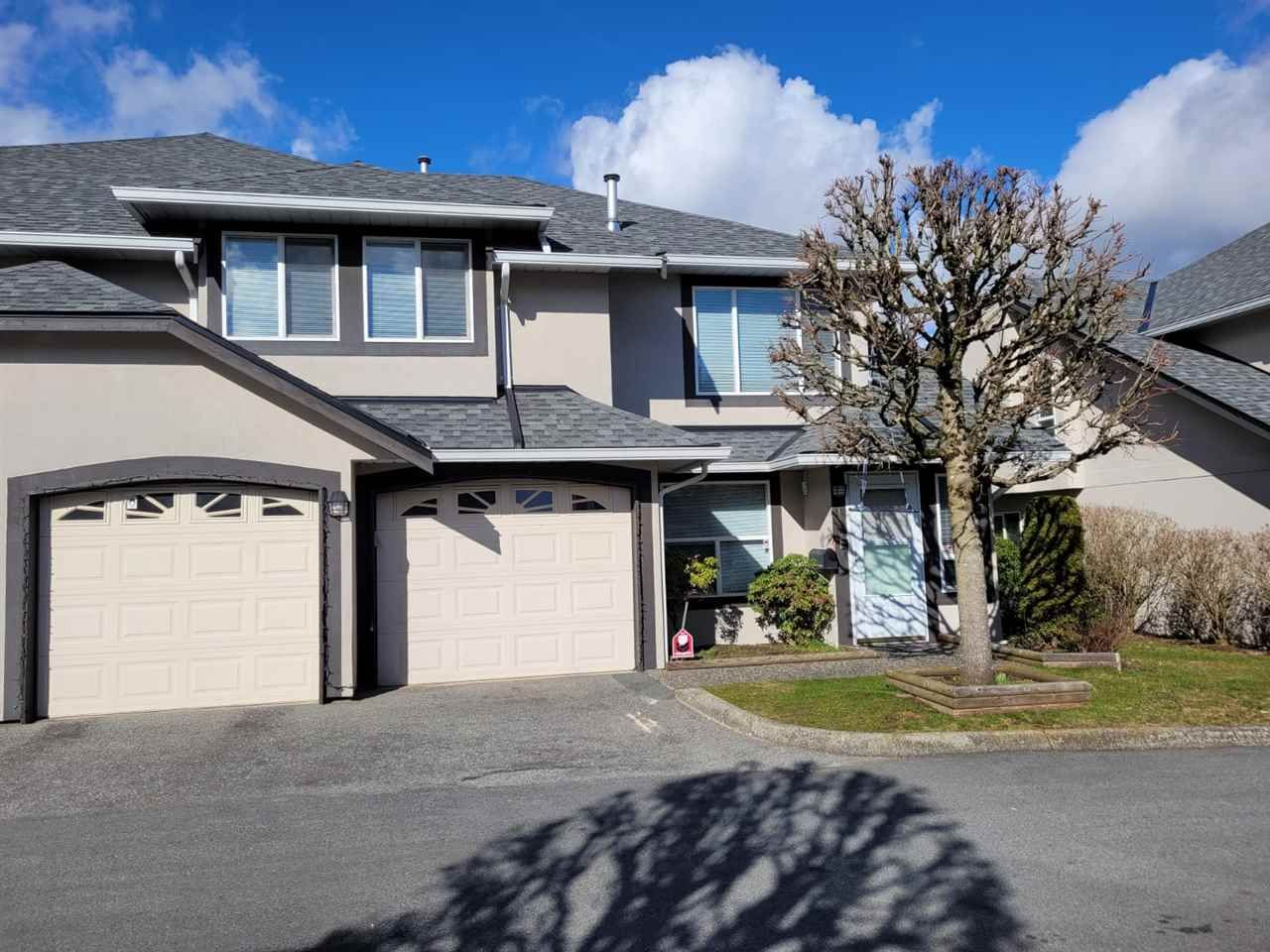 "Main Photo: 130 3160 TOWNLINE Road in Abbotsford: Abbotsford West Townhouse for sale in ""Southpoint"" : MLS®# R2549441"