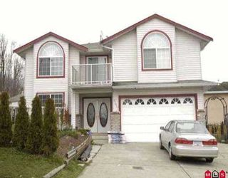 """Photo 1: 3324 SISKIN DR in Abbotsford: Abbotsford West House for sale in """"ABBOTSFORD WEST"""" : MLS®# F2602630"""
