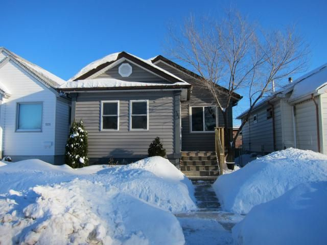 Main Photo: 523 Parr Street in WINNIPEG: North End Residential for sale (North West Winnipeg)  : MLS®# 1302719