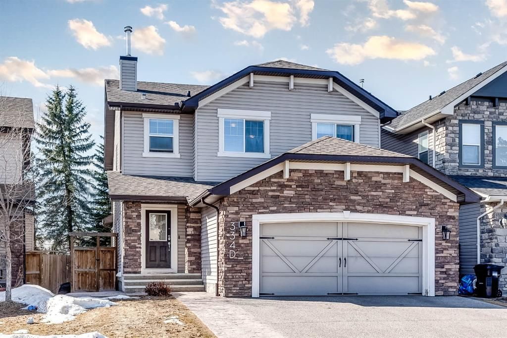 Main Photo: 334D Silvergrove Place NW in Calgary: Silver Springs Detached for sale : MLS®# A1083137