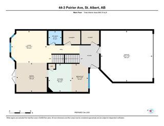 Photo 42: 44 3 POIRIER Avenue: St. Albert House Half Duplex for sale : MLS®# E4223810