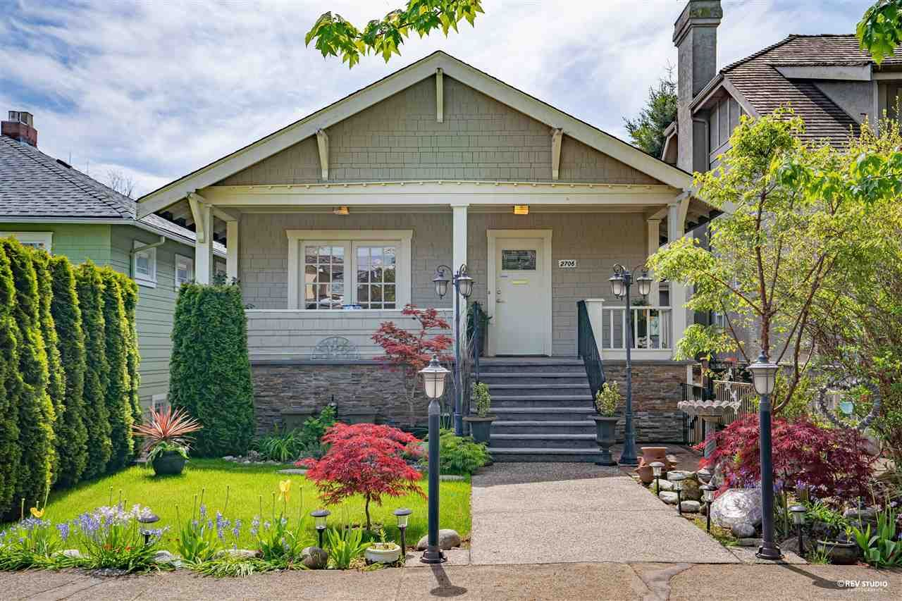 Main Photo: 2706 W 42ND Avenue in Vancouver: Kerrisdale House for sale (Vancouver West)  : MLS®# R2579314