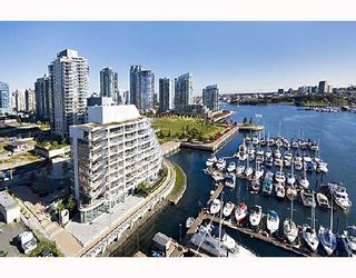"""Photo 1: 503 628 KINGHORNE MEWS BB in Vancouver: False Creek North Condo for sale in """"SILVER SEA"""" (Vancouver West)  : MLS®# V683660"""