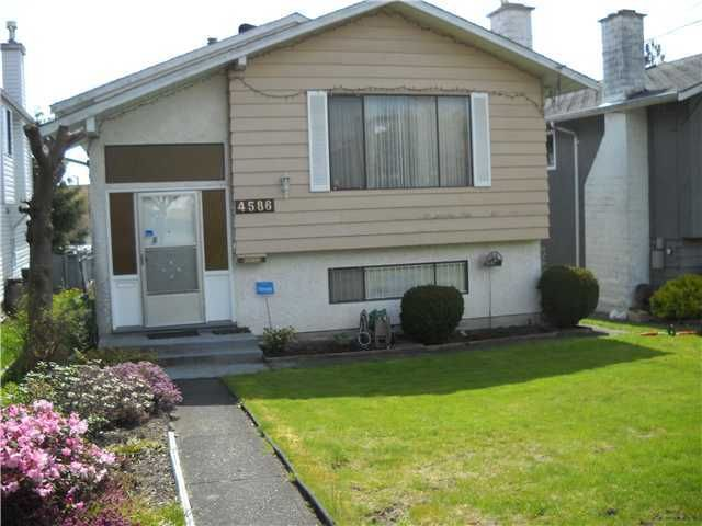 Main Photo: 4586 WATLING Street in Burnaby: Metrotown House for sale (Burnaby South)  : MLS®# V900278