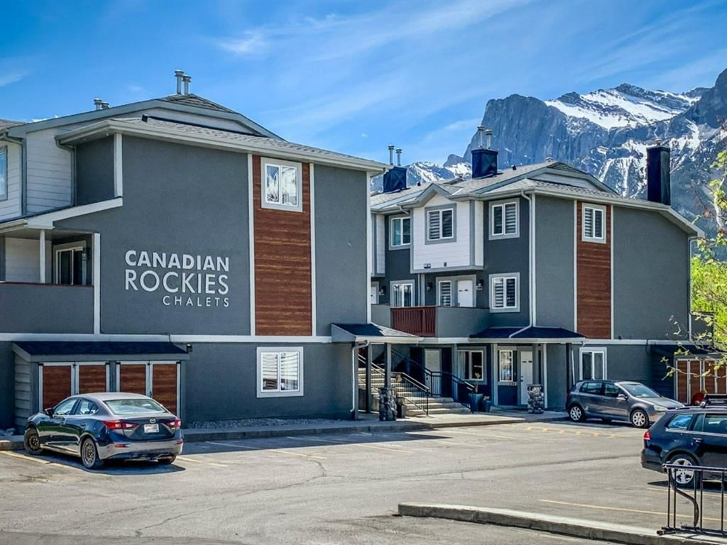 Main Photo: 121 1202 Bow Valley Trail: Canmore Row/Townhouse for sale : MLS®# A1114987
