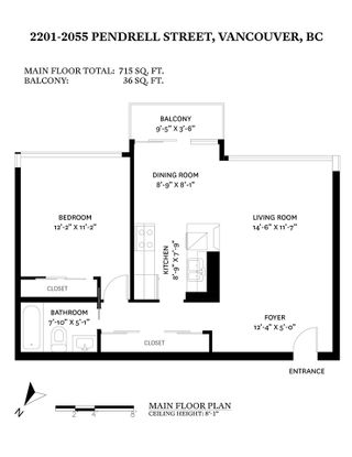 """Photo 37: 2201 2055 PENDRELL Street in Vancouver: West End VW Condo for sale in """"PANORAMA PLACE"""" (Vancouver West)  : MLS®# R2587547"""