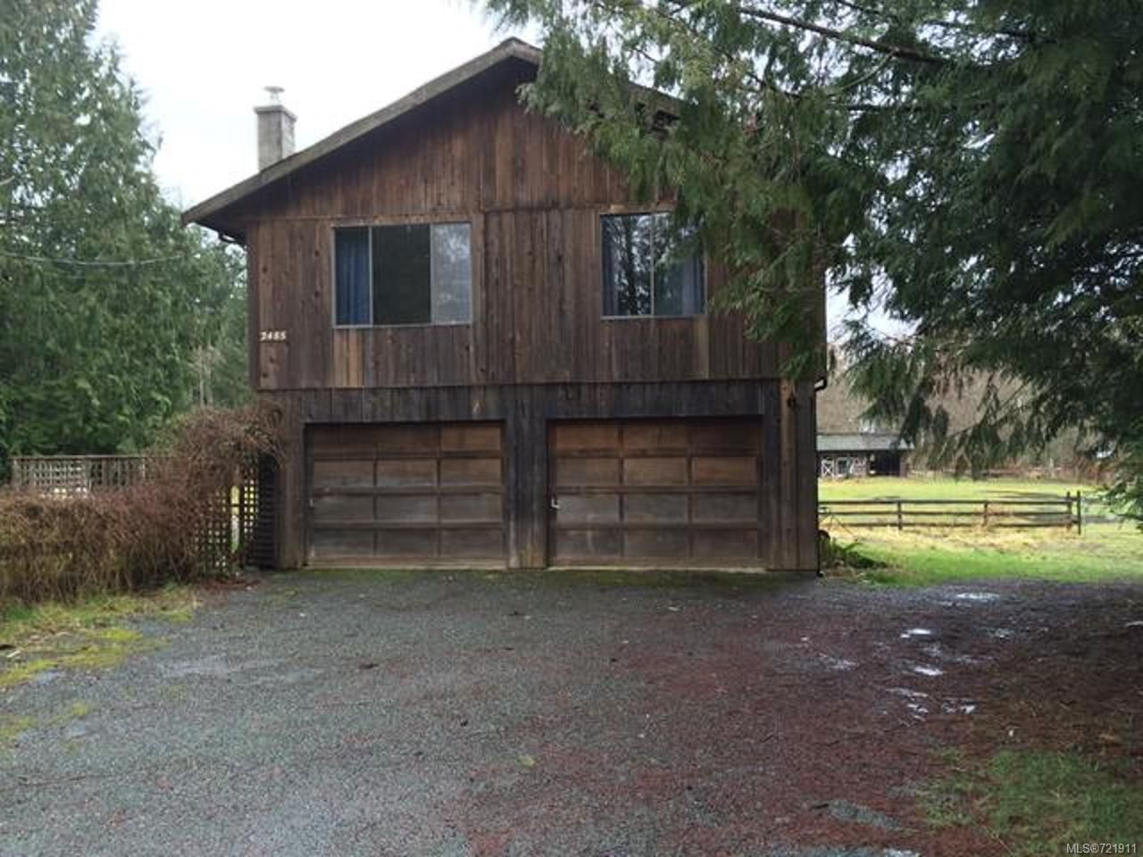 Main Photo: 2485 ENGLAND ROAD in COURTENAY: CV Courtenay West House for sale (Comox Valley)  : MLS®# 721911
