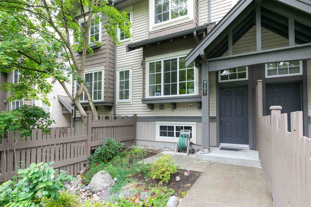 Main Photo: 9197 CAMERON Street in Burnaby: Sullivan Heights Townhouse for sale (Burnaby North)  : MLS®# R2387140