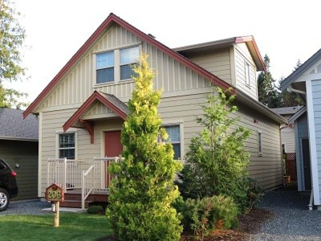 Main Photo: 206 1130 Resort Dr in PARKSVILLE: PQ Parksville Row/Townhouse for sale (Parksville/Qualicum)  : MLS®# 752150