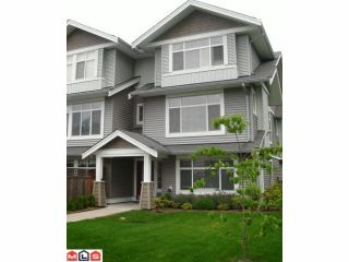 """Photo 1: 61 19330 69TH Avenue in Surrey: Clayton Townhouse for sale in """"MONTEBELLO"""" (Cloverdale)  : MLS®# F1018264"""