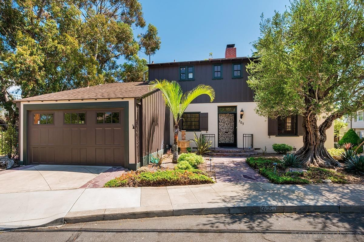 Main Photo: SAN DIEGO House for sale : 4 bedrooms : 305 W Olive
