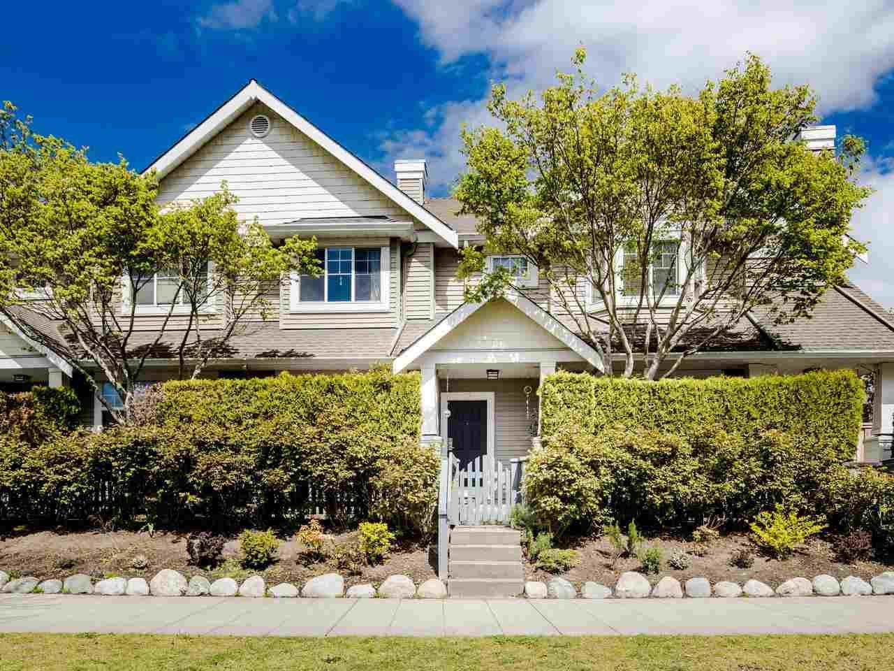 "Main Photo: 10 5988 BLANSHARD Drive in Richmond: Terra Nova Townhouse for sale in ""RIVERIA GARDENS"" : MLS®# R2453049"
