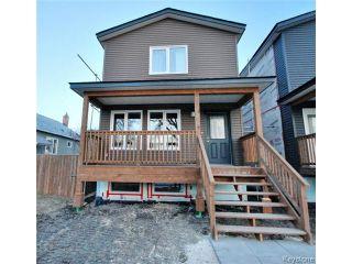 Photo 1: 114 Harrowby Avenue in WINNIPEG: St Vital Residential for sale (South East Winnipeg)  : MLS®# 1508835