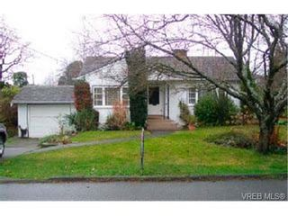 Photo 1: 1246 Palmer Rd in VICTORIA: SE Maplewood House for sale (Saanich East)  : MLS®# 300687