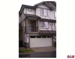 """Photo 1: 14453 72ND Ave in Surrey: East Newton Townhouse for sale in """"Sequoia Green"""" : MLS®# F2703497"""