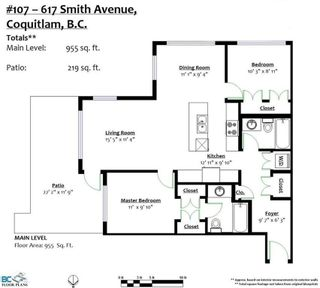 """Photo 20: 107 617 SMITH Avenue in Coquitlam: Coquitlam West Condo for sale in """"EASTON"""" : MLS®# R2220282"""