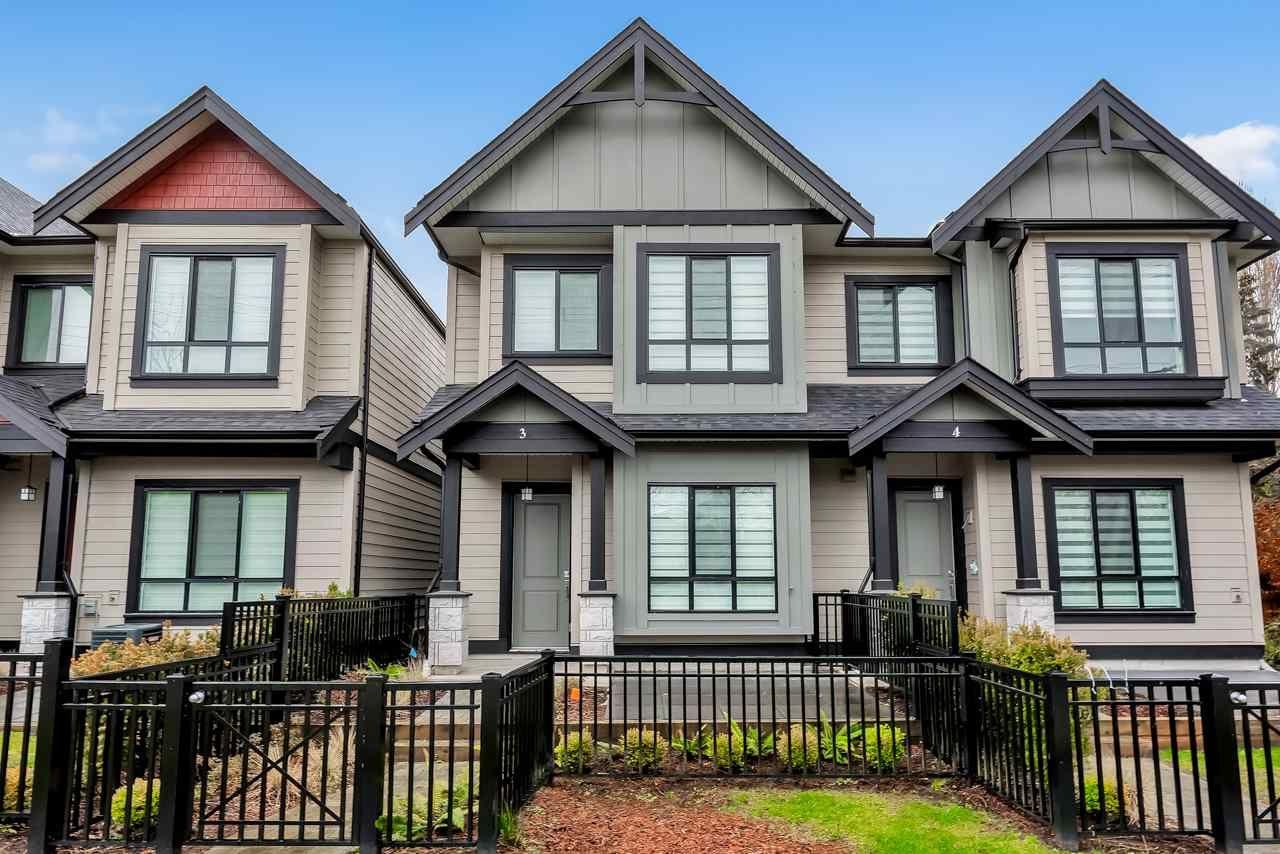 Main Photo: 3 7388 RAILWAY Avenue in Richmond: Granville Townhouse for sale : MLS®# R2456191