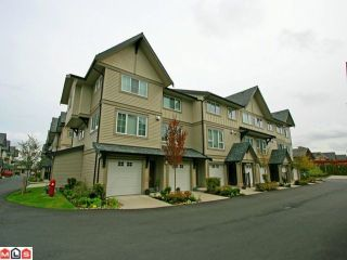 """Photo 1: 256 2501 161A Street in Surrey: Grandview Surrey Townhouse for sale in """"HIGHLAND PARK"""" (South Surrey White Rock)  : MLS®# F1209955"""